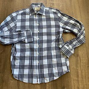 Thomas Pink French Cuff Slim Dress Shirt sz 16.5